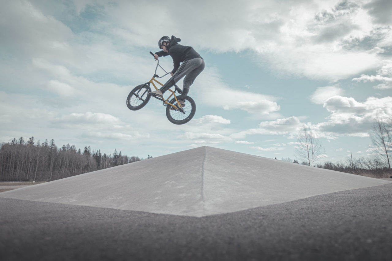 BMX at the skate park vantaa