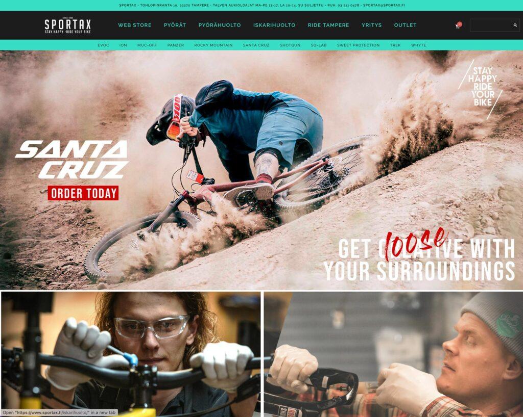 sportax pyöräkauppa Tampere